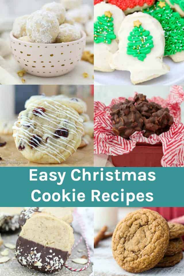 Easy Christmas Cookie Recipes For Cookie Exchanges and More