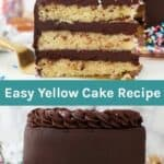 Easy Homemade Yellow Cake Recipe