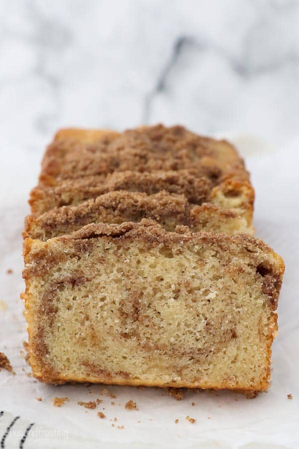 Easy Cinnamon Sugar Bread Quick Bread Recipe