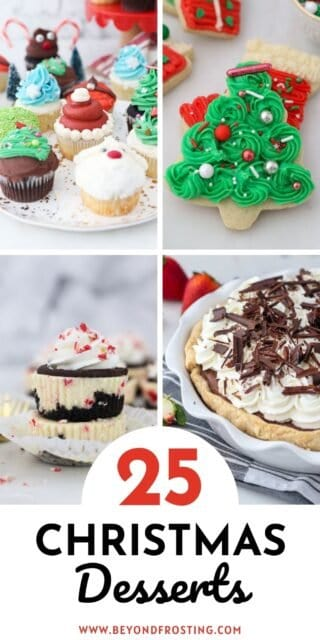a collage of dessert images with text overlay