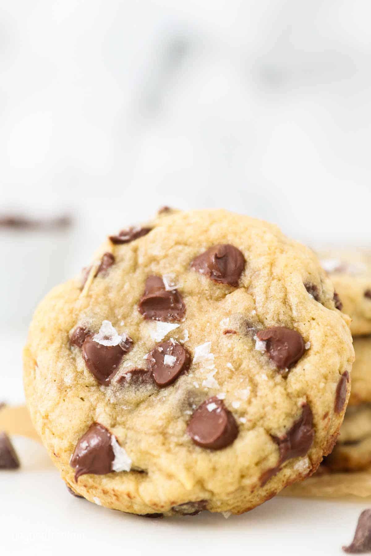 A gluten-free chocolate chip cookie